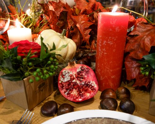 Last Minute Ideas For A Perfect Thanksgiving Table